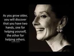Audrey Hepburn on aging